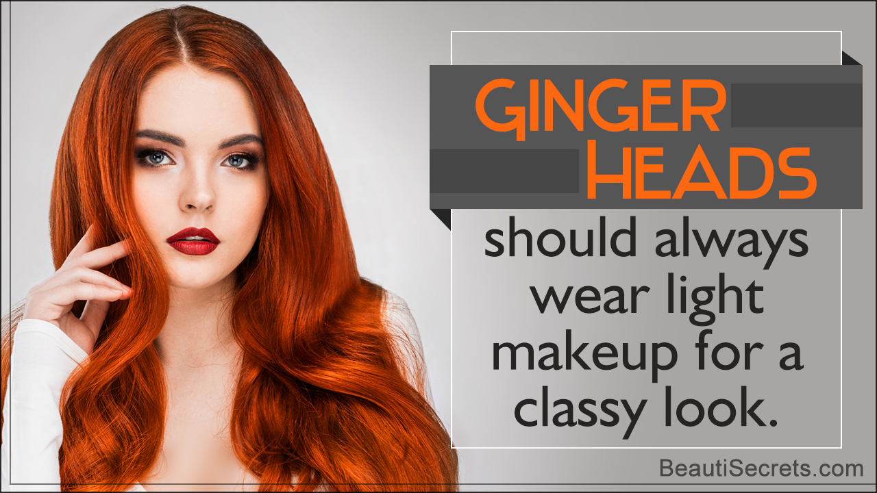 Best Makeup Tips for Redheads  Makeup tips for redheads, Best