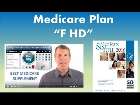 Medicare Supplement Plan F HD