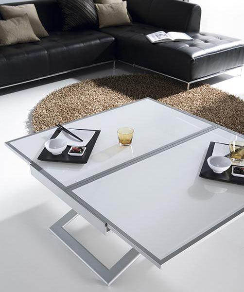 Double, mesas centro y elevables, Ramiro Tarazona | Mesas elevables ...