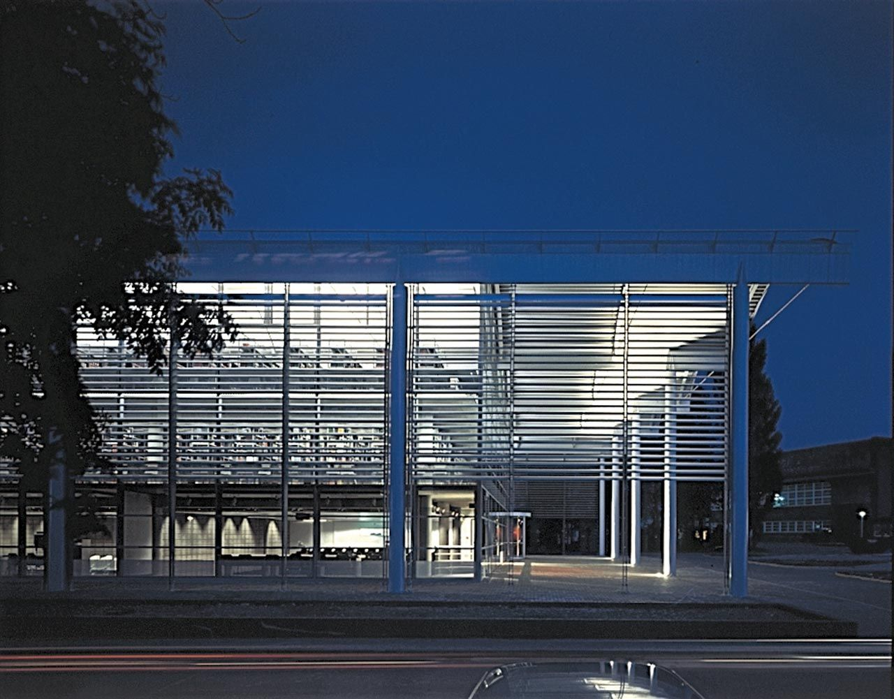 Cranfield university library projects foster partners