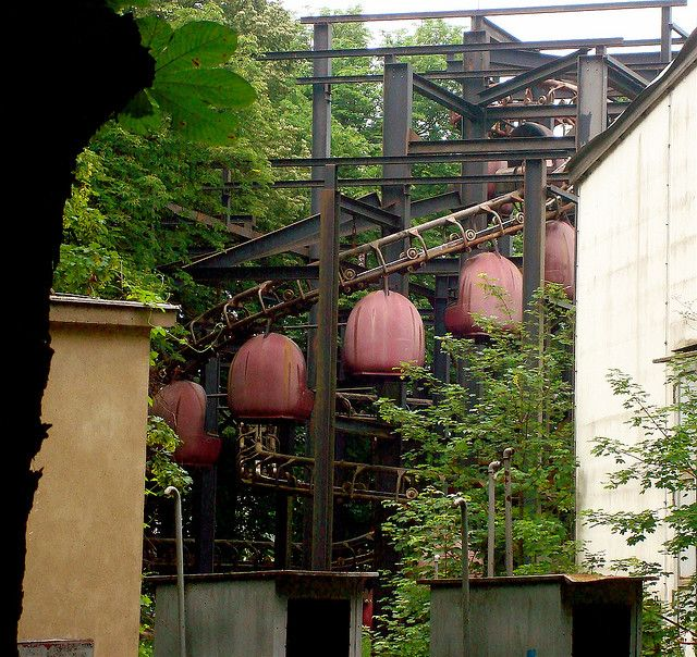 Abandoned East Berlin Amusement Park