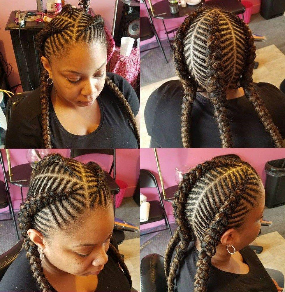 The Timeless Beauty Of Fishbone Braids Box Braids Hairstyles For Black Women Fishbone Braid Hair Styles