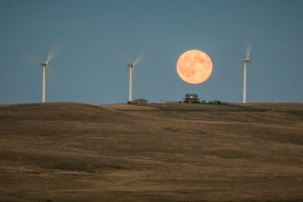 """""""Buck Moon"""" Photo by Jeff Wallace — National Geographic Your Shot"""