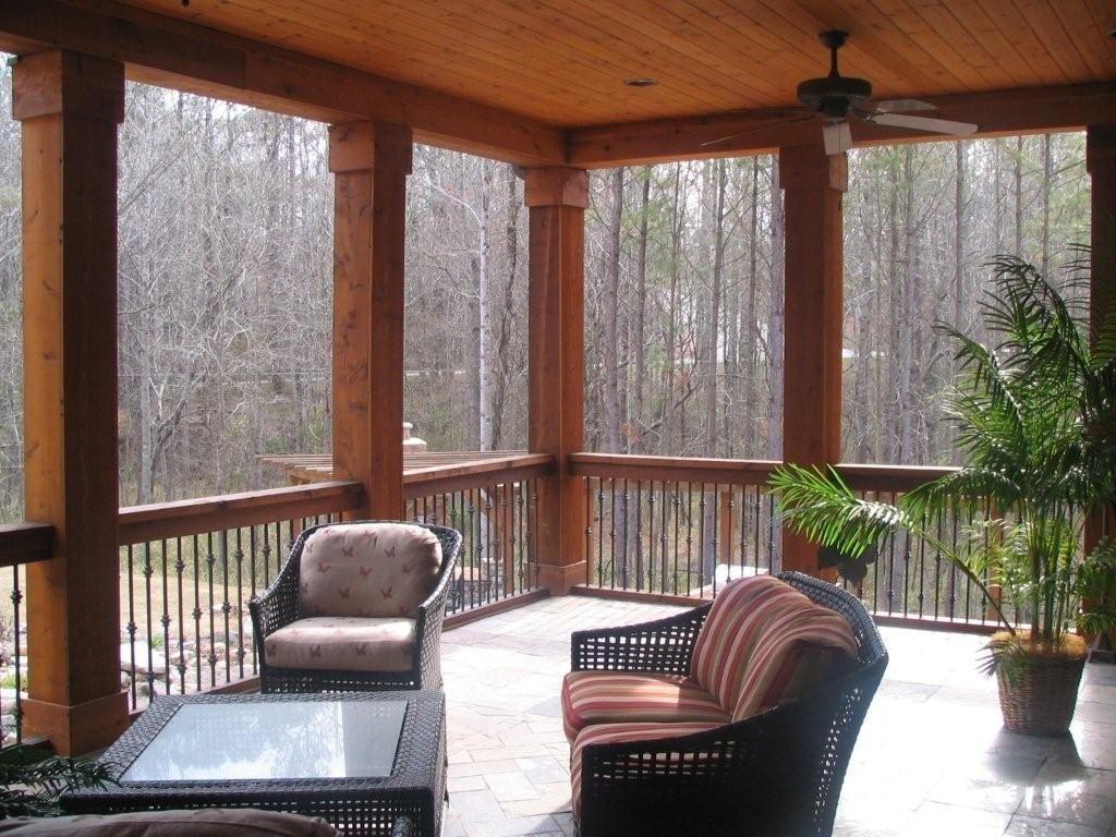 Covered Deck | Deck | Pinterest | Covered decks, Decking ...