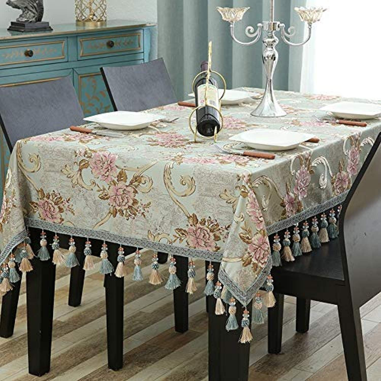 Decorative Waterproof Tablecloths Home Decor Home European Tablecloth Fabric Rectangular Home Living Room Western Coffee Table Kitchen Home Decor Table Covers
