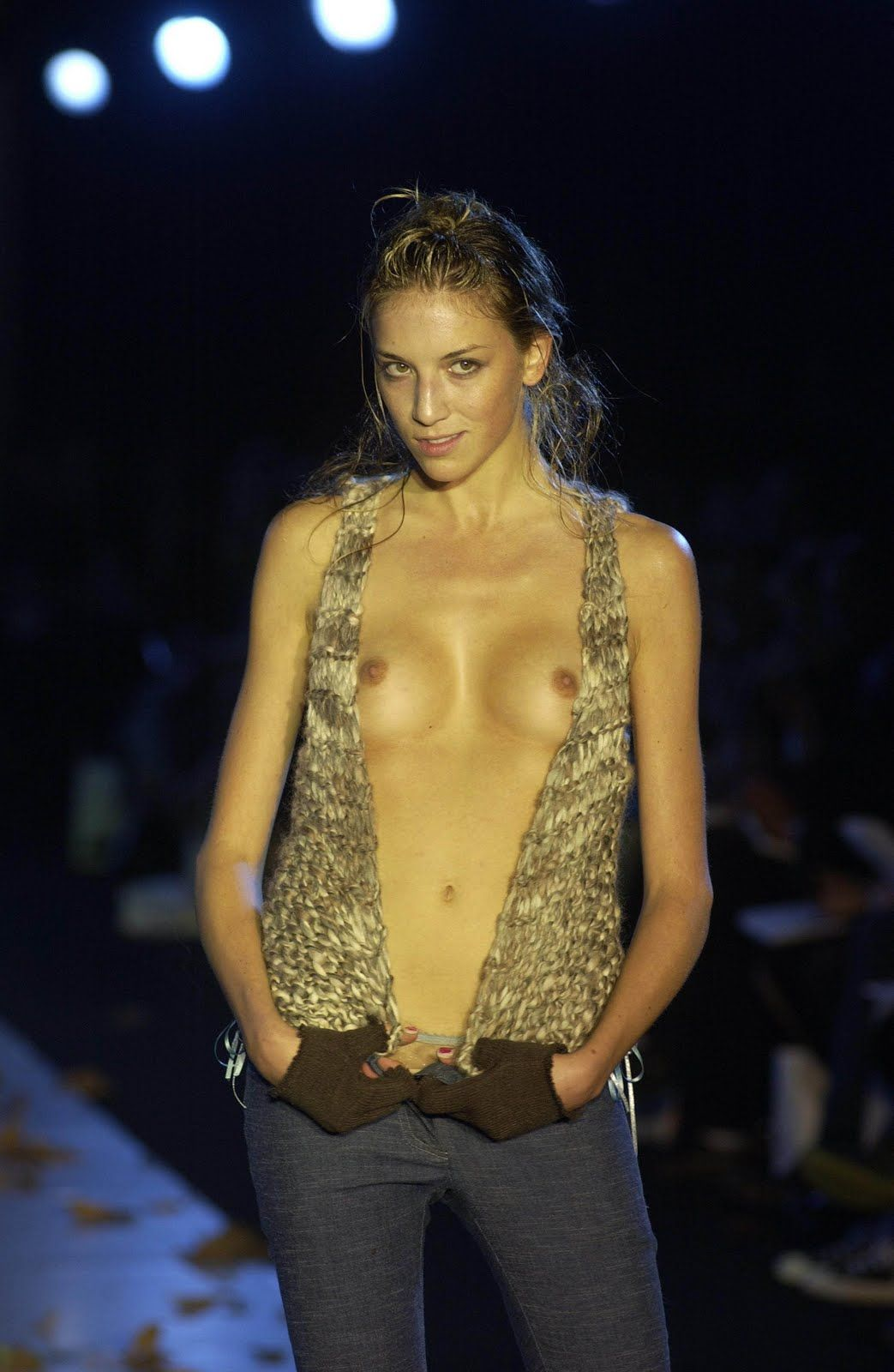 naked on the catwalk Naked catwalk and nude runway pics - Fashion show oops photo - Naked and  nude in public pics and photos