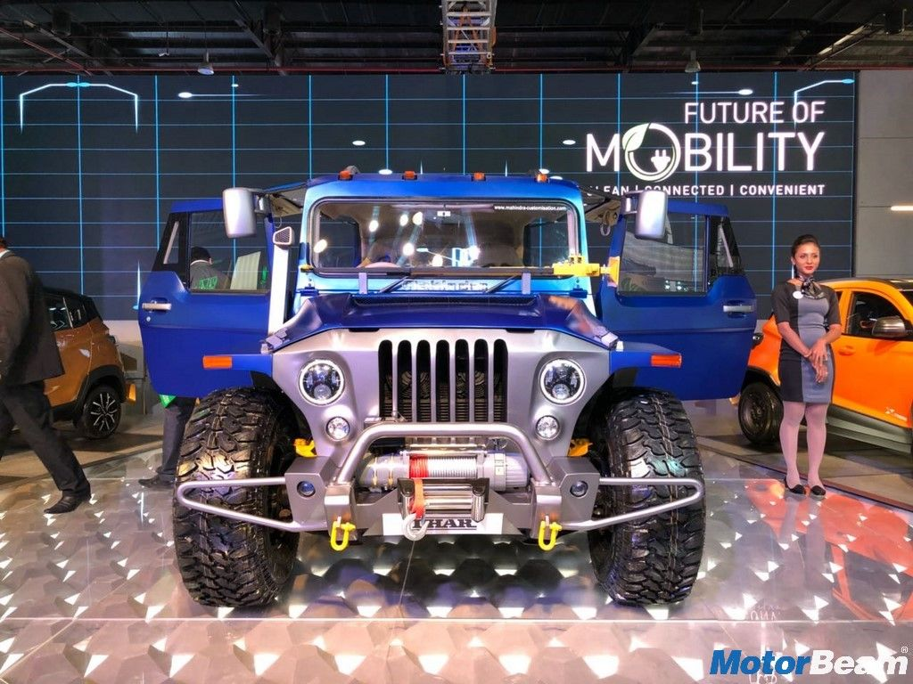 Mahindra Thar Wanderlust Showcased At Auto Expo Mahindra Thar