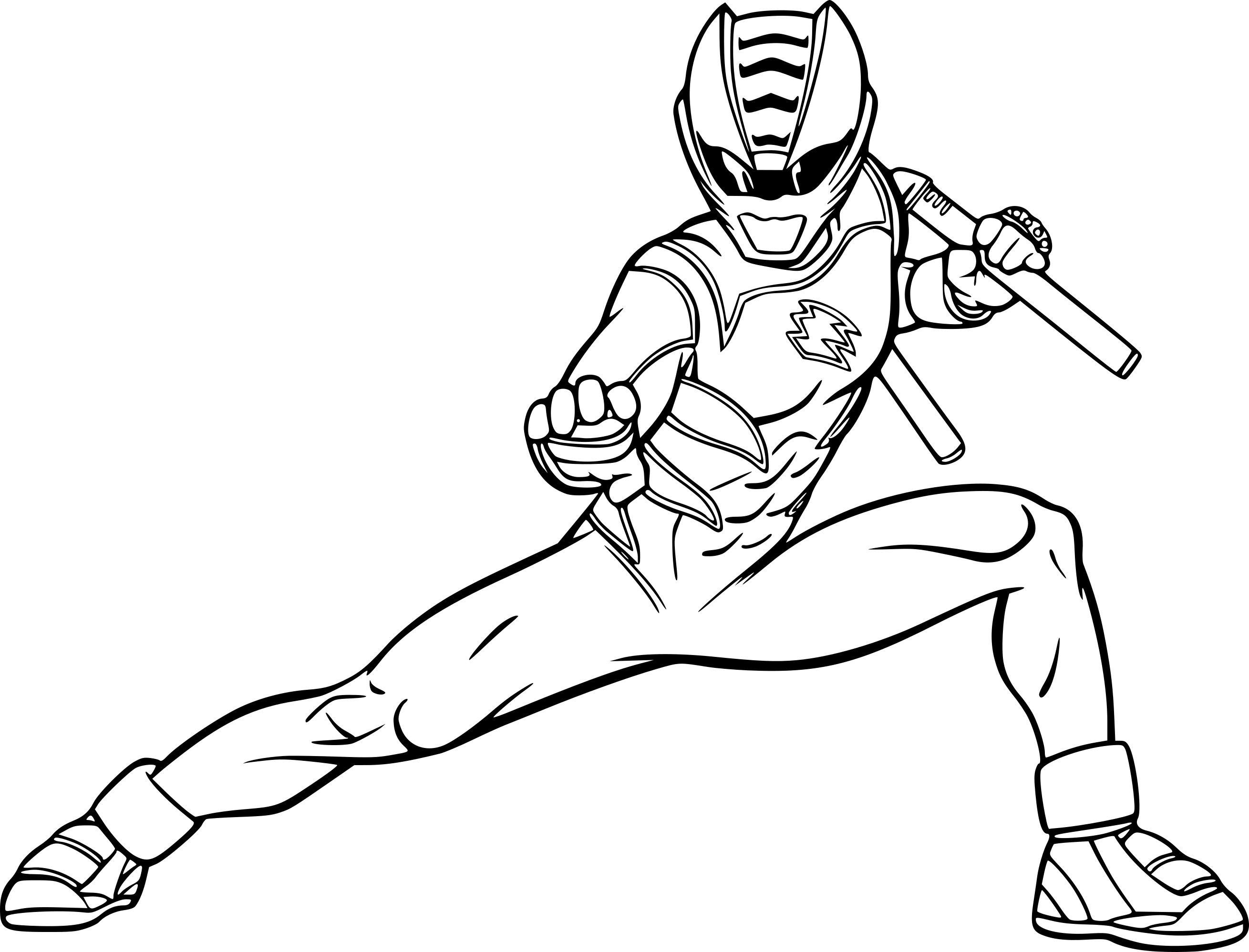 30 Coloriage Power Rangers Frais