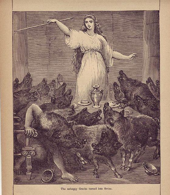 Circe Art Ancient Greece Mythology