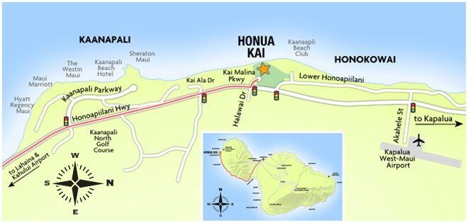 Maui Hawaii Luxury Hotel Accommodations on Kaanapali Beach near