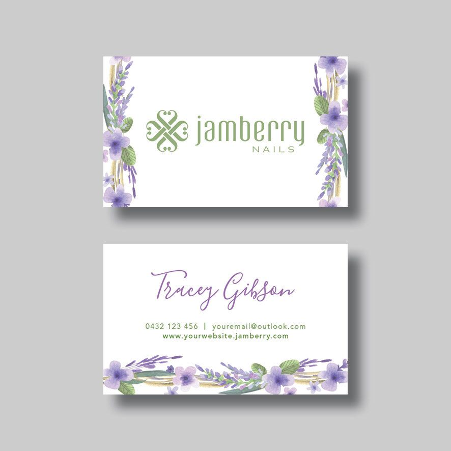 Jamberry nails business card floral digital design by jamberry nails business card floral digital design by bellgraphicdesigns on etsy https reheart Choice Image