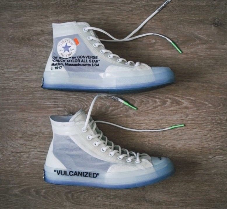 4bb8d67627c0bf Original Converse x Off White Chuck Taylor 70 Virgil Size 8.5 Authentic Rare