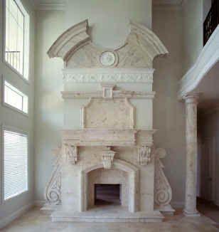Luxury House Interiors In European Styles. Interior Period Design,  Architect Designed Custom Home Interiors