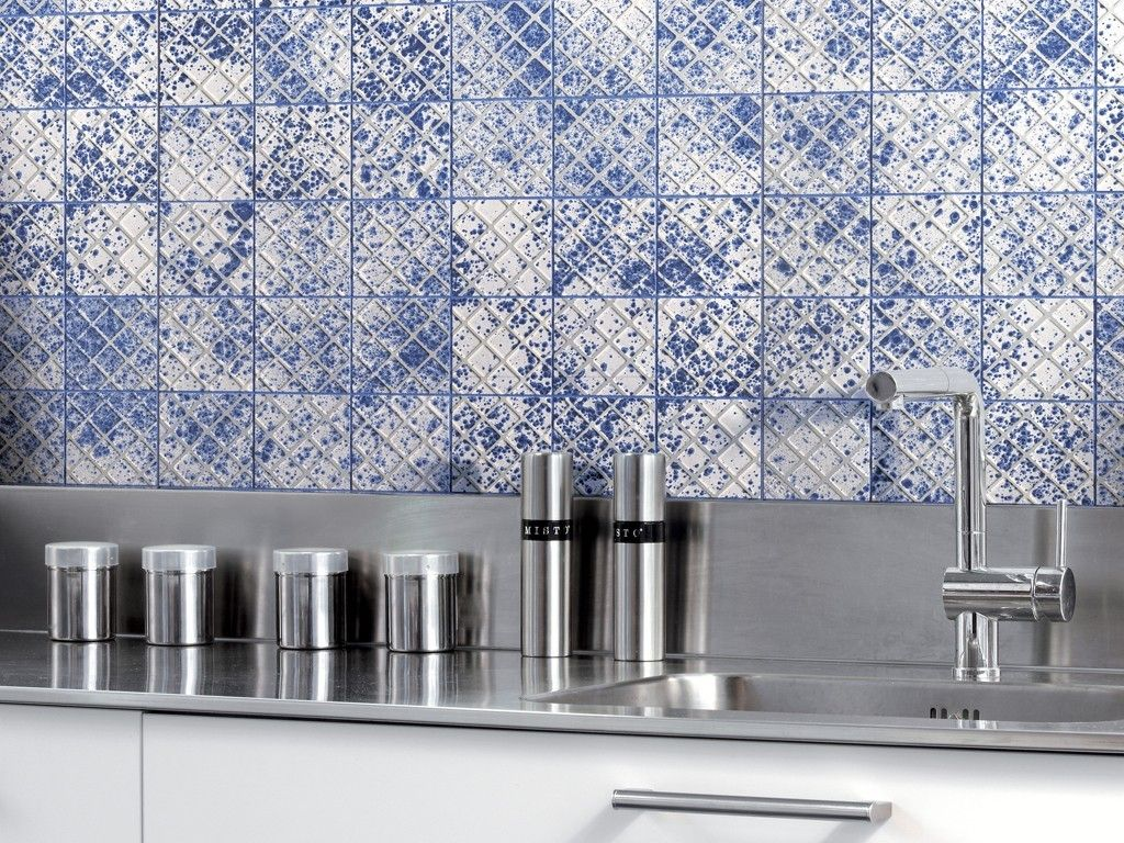 """BESDIE by DesignTaleStudio + Massimilano Adami. """"The idea of Beside started from the observation of ceramic tiles for what they physically are. Handling the tiles, I discovered their """"universal"""" side with an unexpected, charming hi-tech feature."""" - Adami   - Urban Edge Ceramics"""