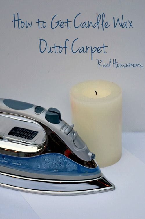 How To Get Wax Out Of Carpet Real Housemoms With Images How To Clean Carpet Carpet Cleaning Hacks Dry Carpet Cleaning