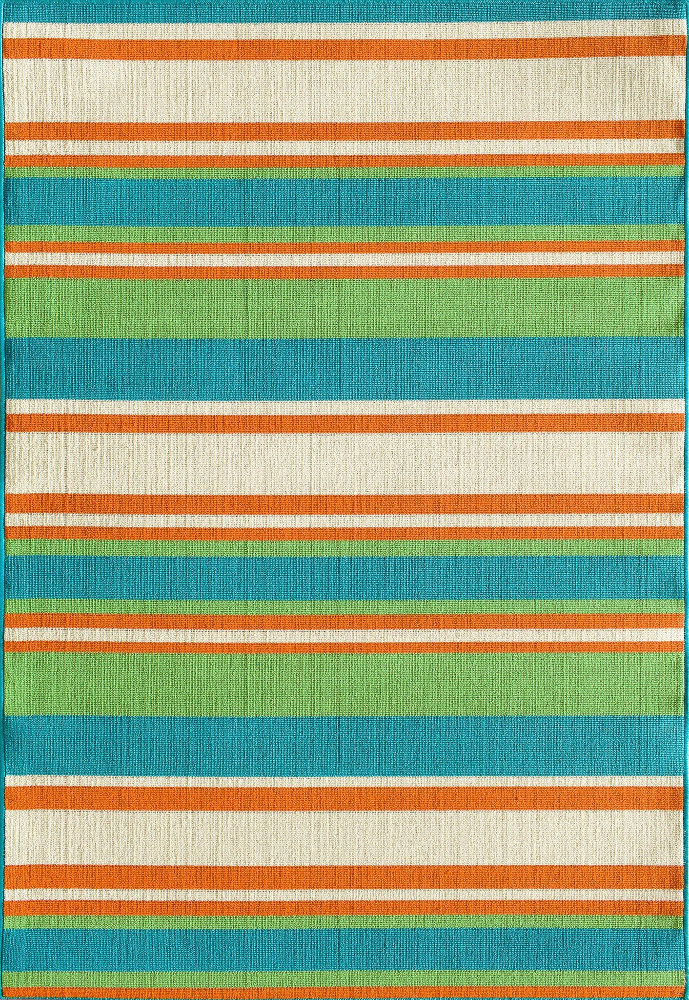 Tributary 6008 33 Allison Stripe Turquoise Rug In 2018 Products