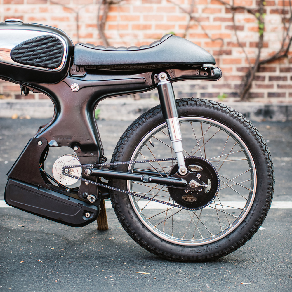The 929 Moped That Won A Global Custom Build Off Best Electric