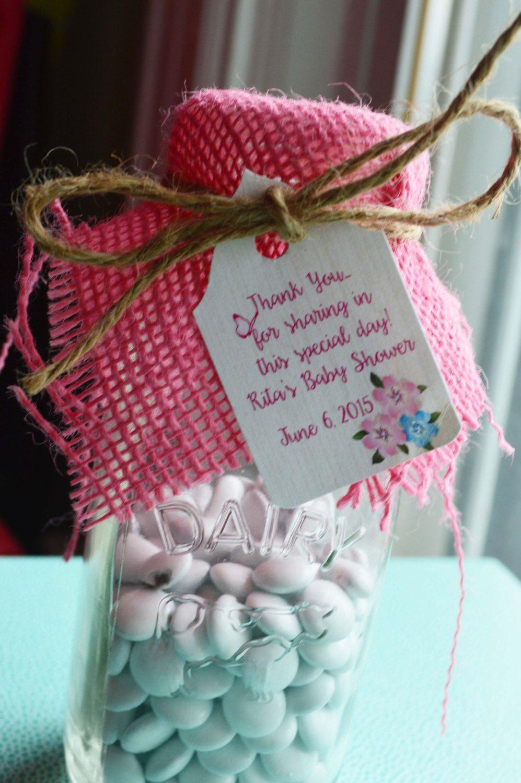 Garden decor for baby shower   Personalized Girl Baby Shower Favor Gift Tags Garden Theme Baby