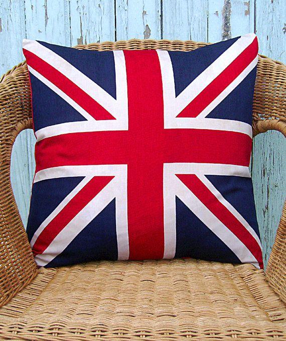 Union Jack pillow cover British flag pillow cover UK flag