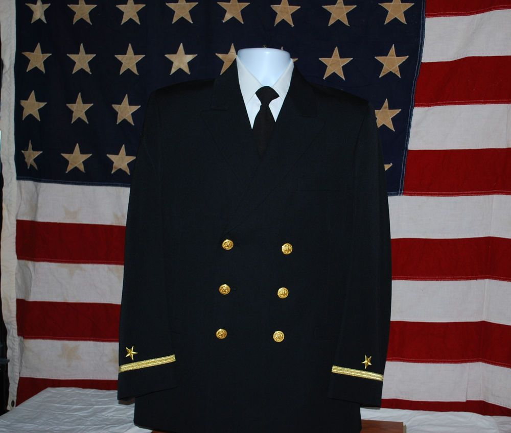 Us Navy Usn Military Officer Ensign Dress Blue Uniform With Pants Blue Dresses Us Navy Military Officer