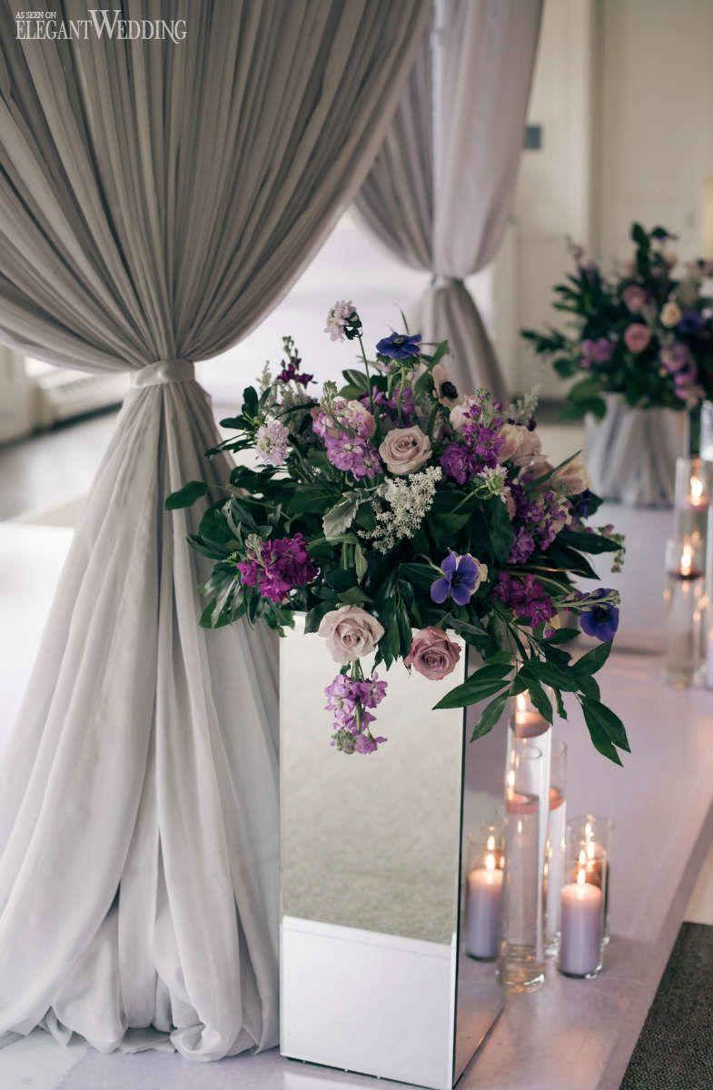 luxurious lavender wedding theme | lavender wedding theme