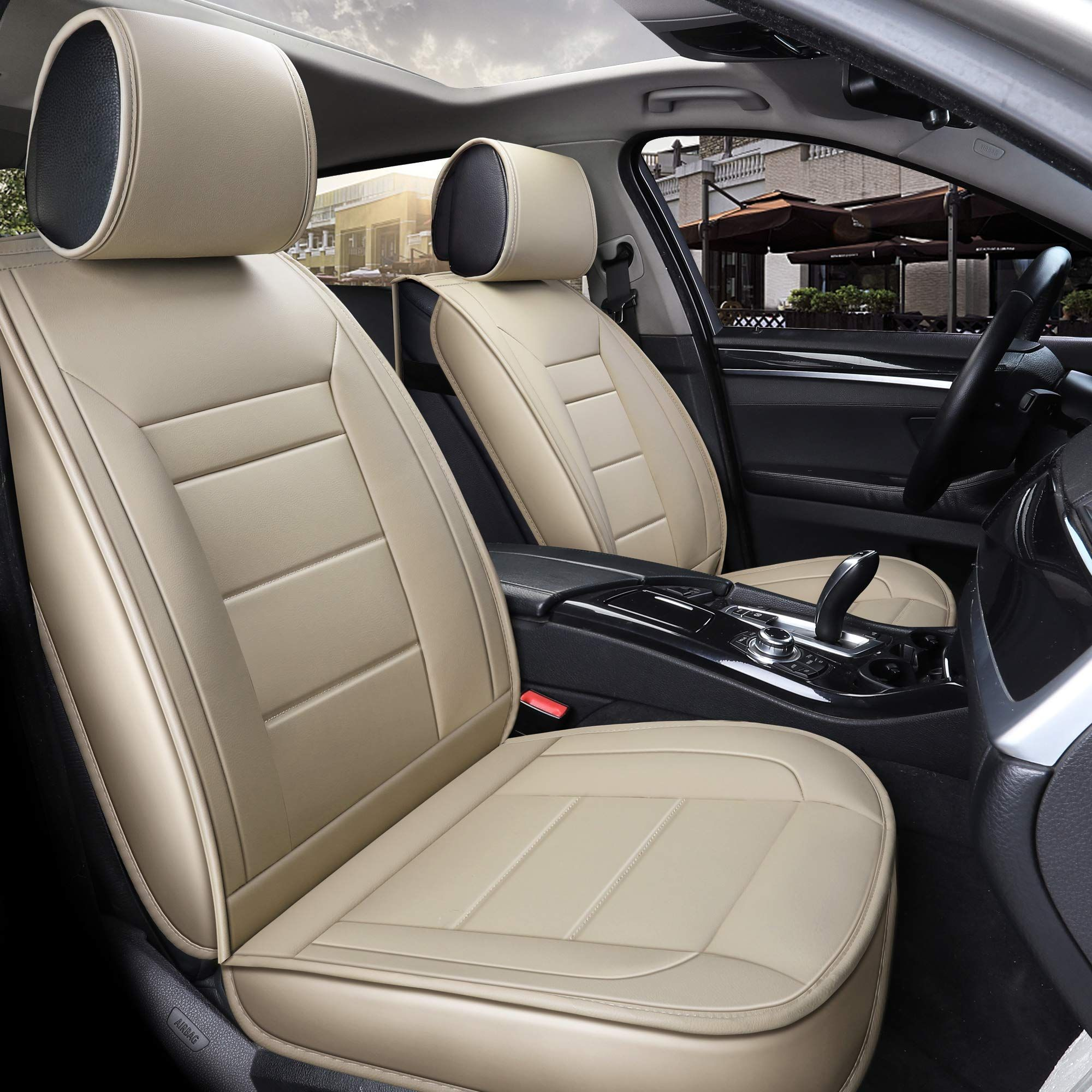 INCH EMPIRE Car Seat Cover Easy to Clean Artificial
