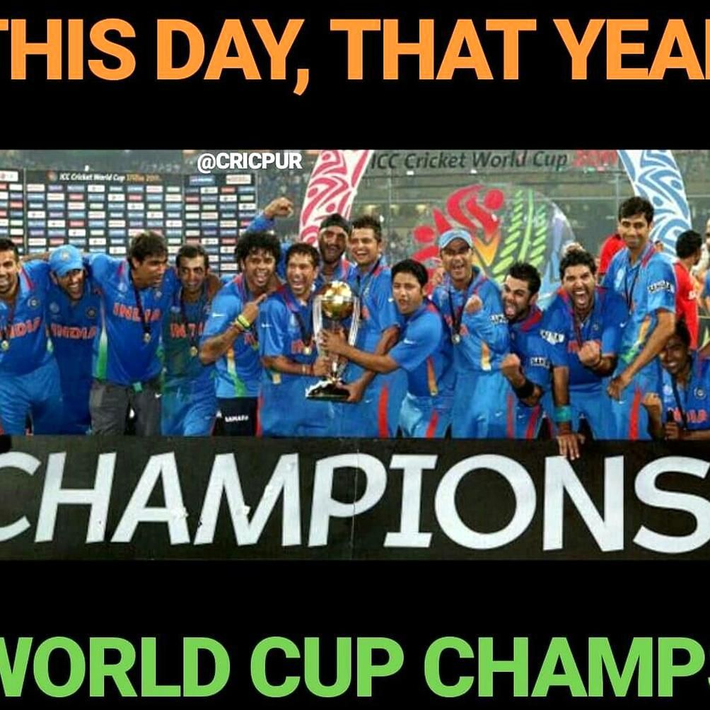 World Cup Champions 2011 Cwc11 Worldcup Cricketworldcup India Champions Lovecricket In 2020 World Cup Champions Cricket World Cup Champion