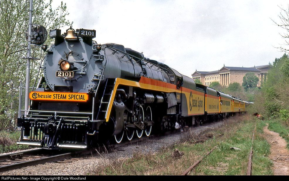Chessie System Steam Special, one of the best looking ...