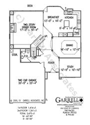 Paces House Plan | House Plans by Garrell Associates, Inc