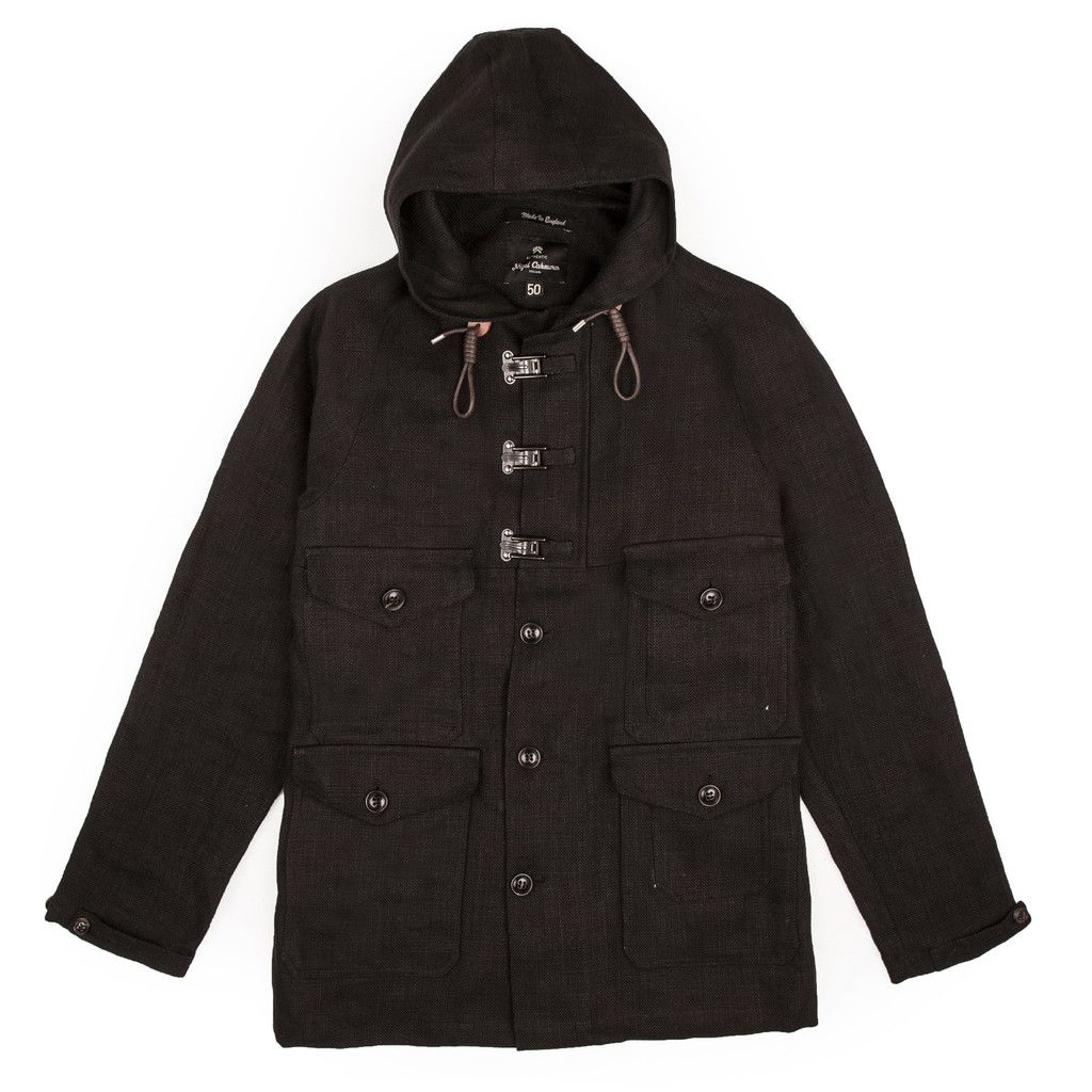 7a5ff9bc0eee Nigel Cabourn Classic Cameraman Jacket Black Navy
