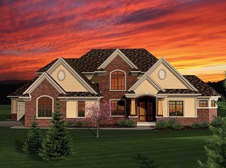 Plan 89831AH 4 Bedroom With 2 Story Great Room Craftsman