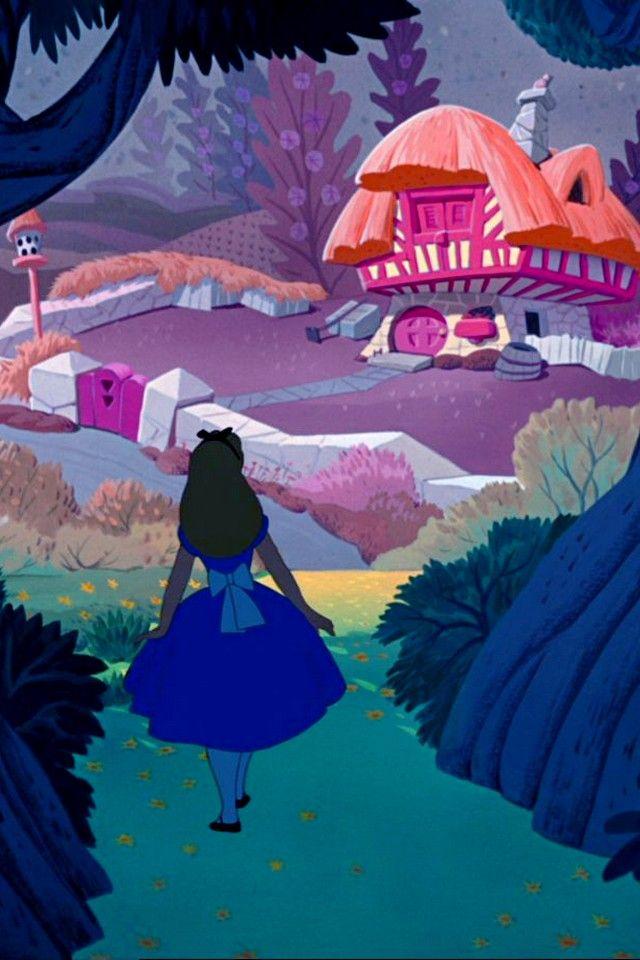 Drinkupmehertiesyoho Alice In Wonderland Background Alice In Wonderland Aesthetic Wallpaper Iphone Disney