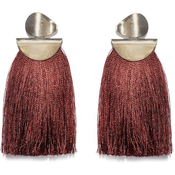 Crater tassel earrings - Red Lizzie Fortunato