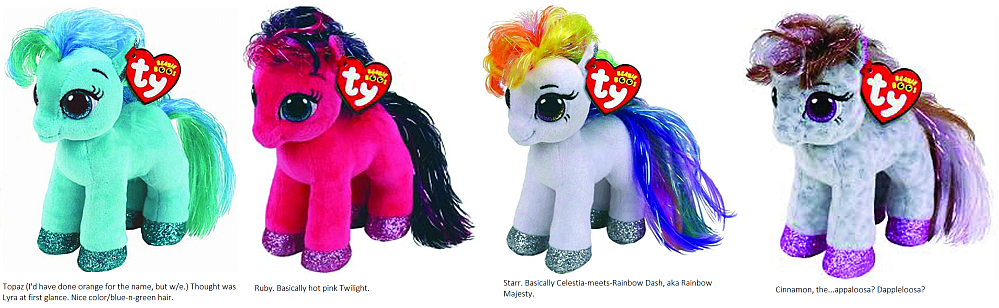 1563a1a6827 Beanie Boo a la MLP...honestly belongs more on this board than the Cool  Beans one  p