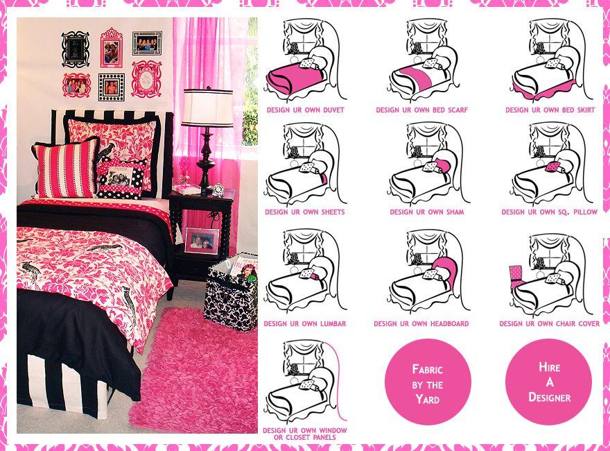 Designing Your Own Dorm Room Bedding And Dorm Room Decor Just Got Easier At  Decor 2 Ur Door Part 71