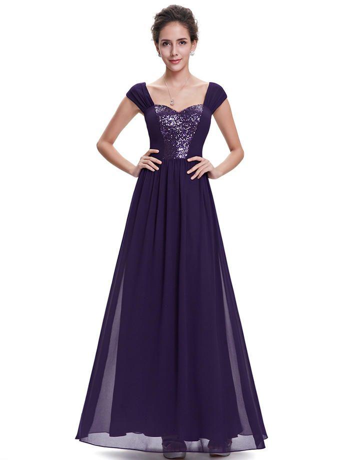 Purple maxi dresses uk