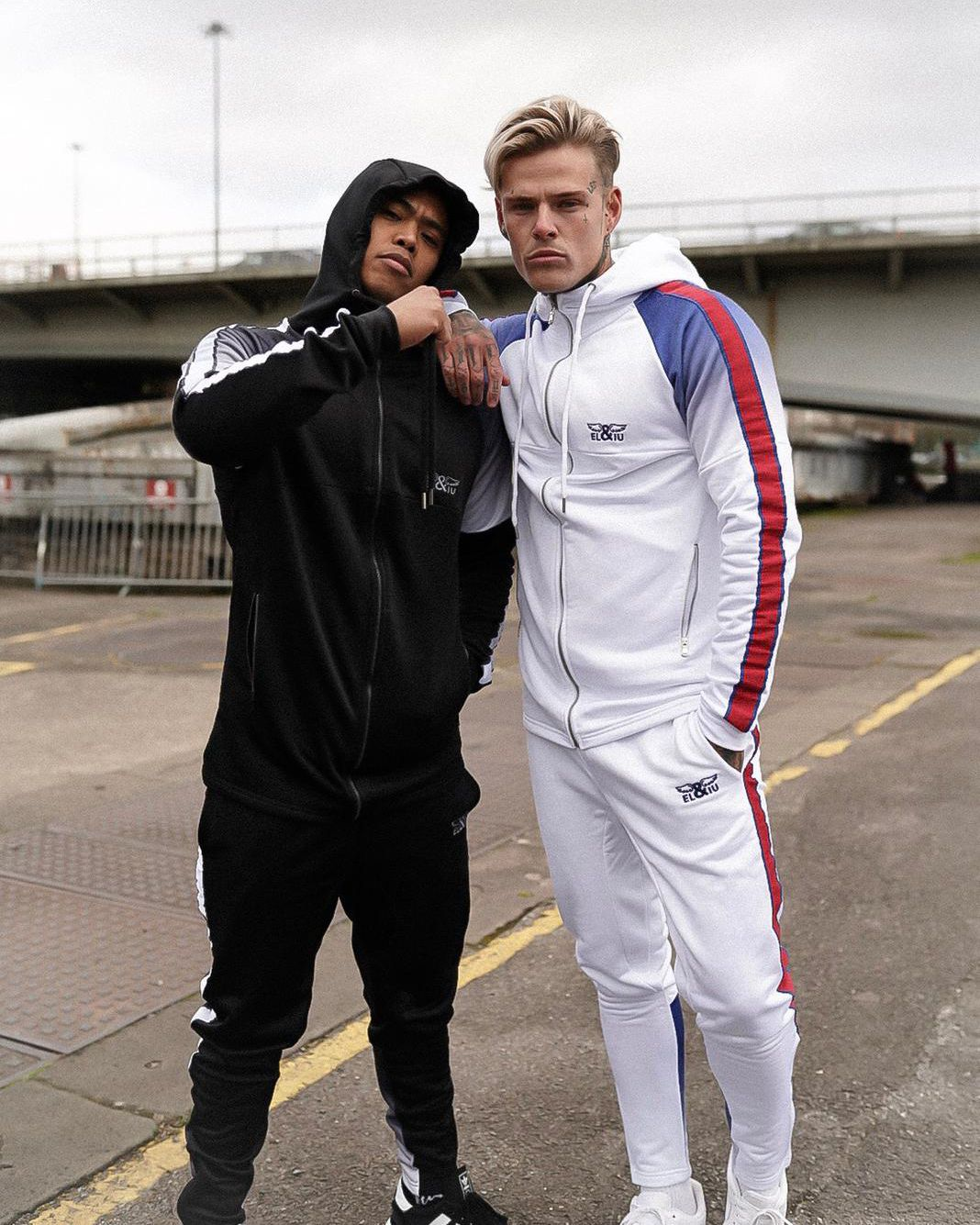Keep it authentic discover the new tracksuit worn here