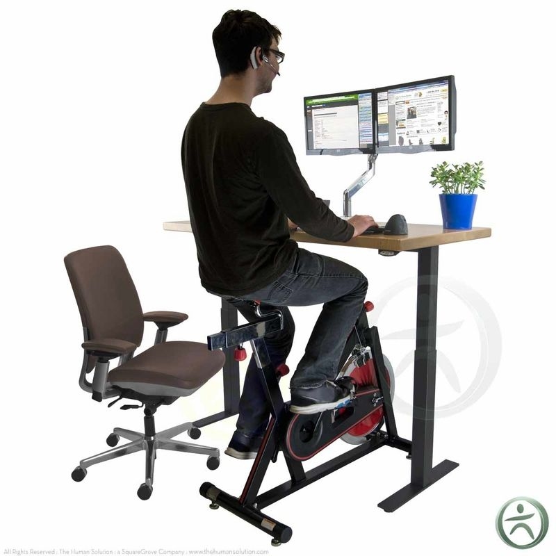 The Uplift Bike Desk Office Exercise Desk Desk Workout
