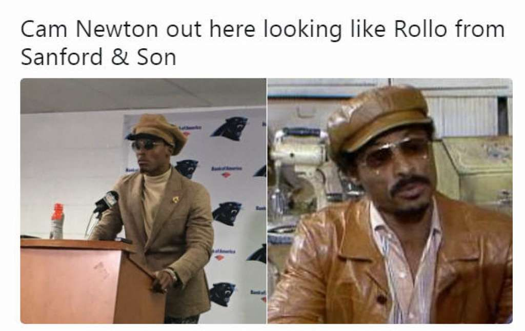 Memes Have Fun With Cowboys Blowout Win Over 49ers Sanford And Son Nfl Memes Carolina Panthers