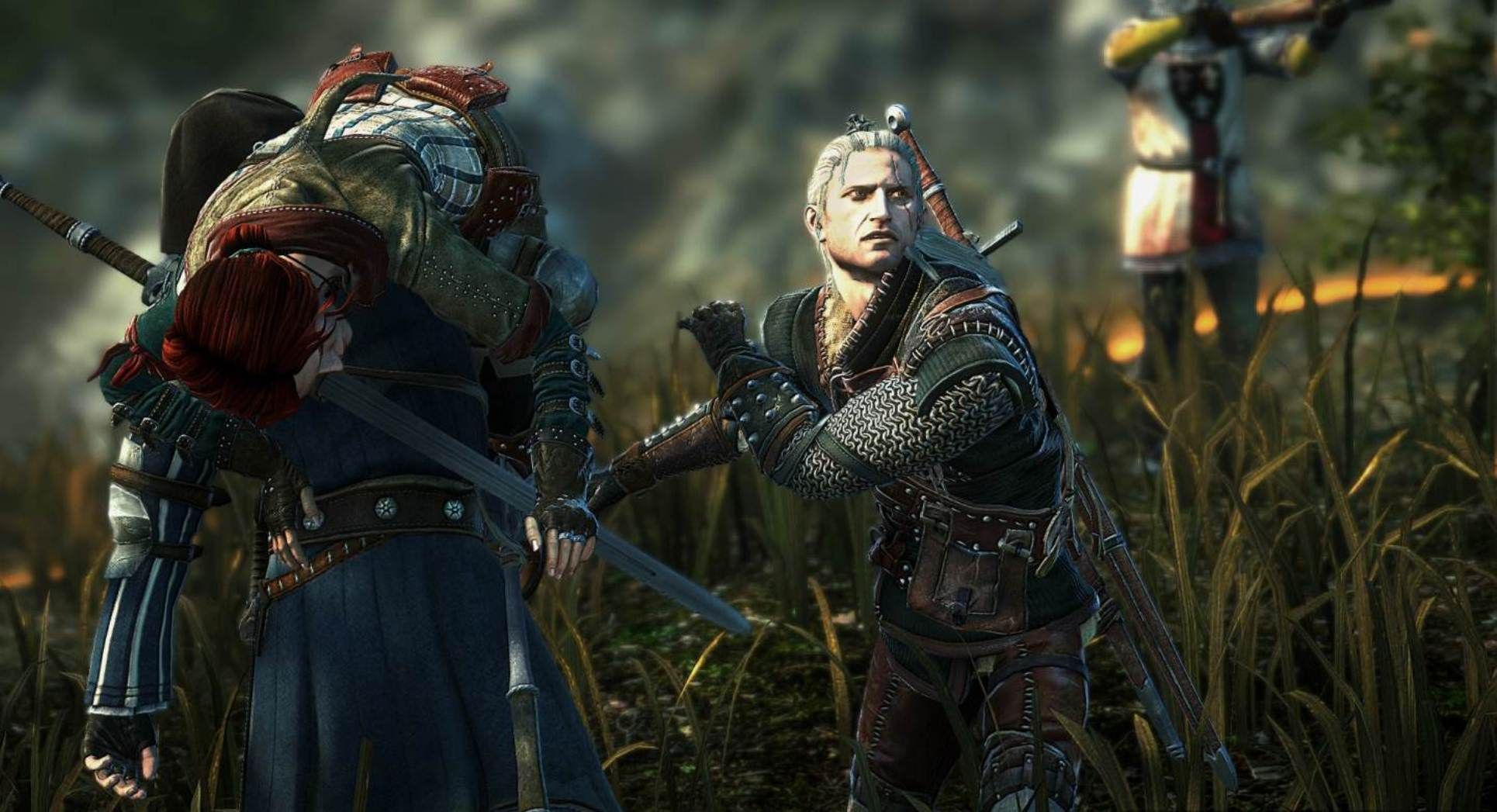 The Witcher 2 Assassins Of Kings Wallpaper Hd Wallpaper The Witcher The Witcher Game Witcher 2