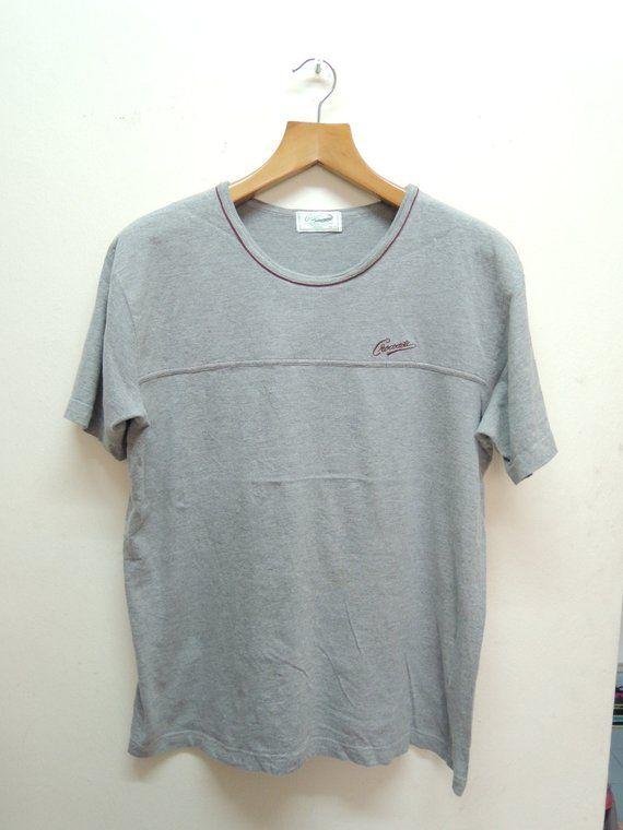 72814462bc22f Vintage 90's Crocodile Lacoste Chemise Sport Shirt Short Sleeves ...