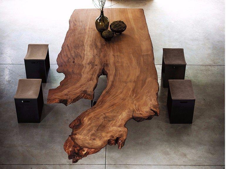 Kauri Wood Table Newton By Riva 1920