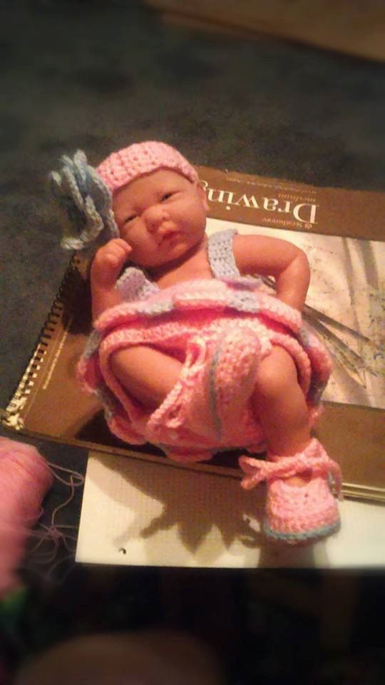 BABY ROMPER, Headband and shoes by CeonmeForever on Etsy