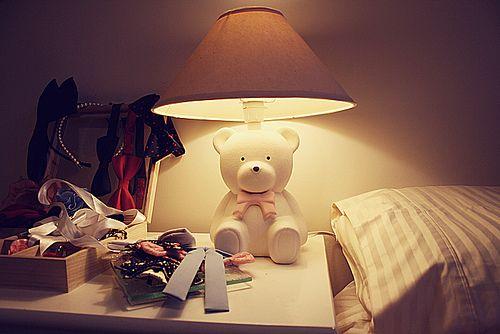 Superb Teddy Bear Lamp | Flickr   Photo Sharing!
