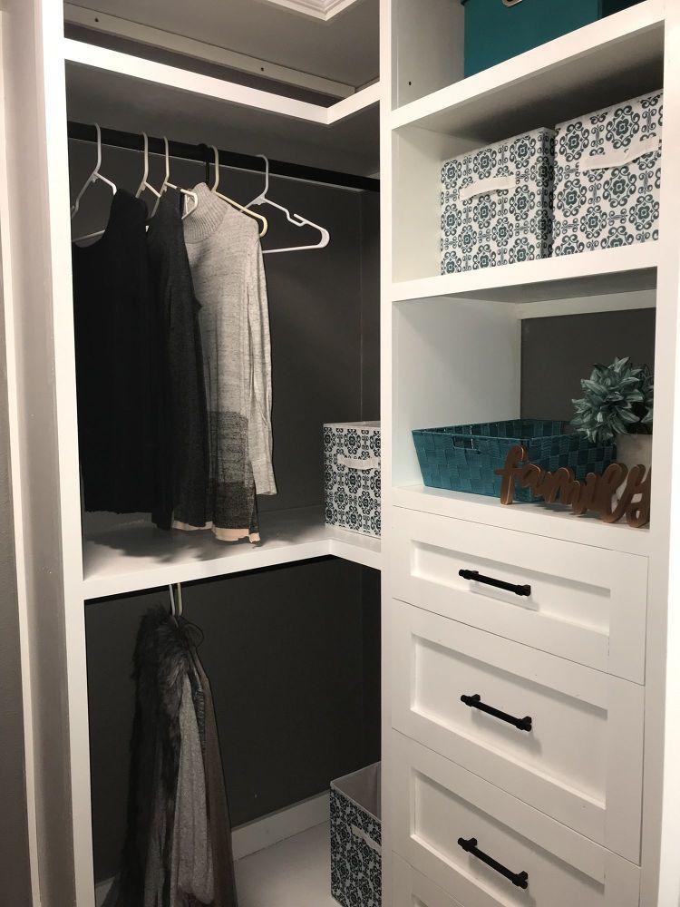 How to Build a DIY Closet Organizer with BuiltIn Storage