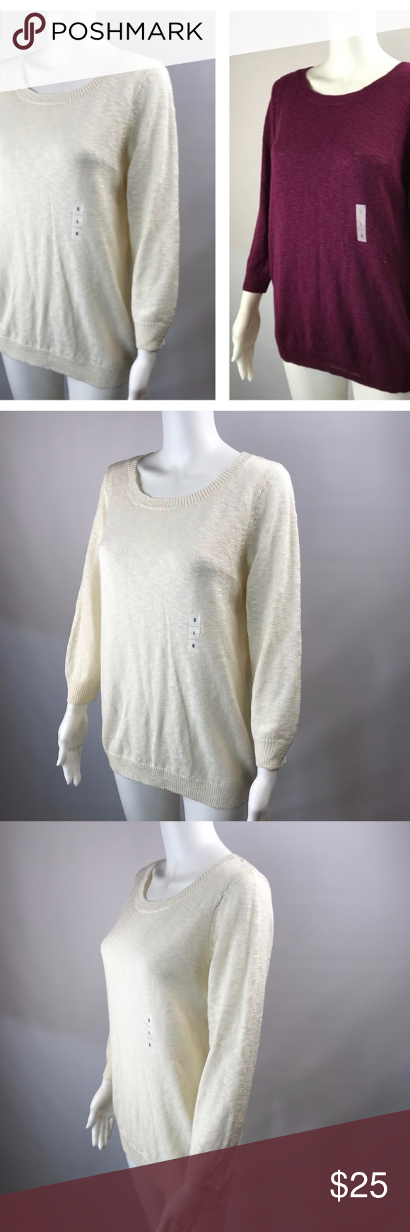 Old Navy LARGE Crew Neck Sweaters Set of 2 Old Navy LARGE Crew ...