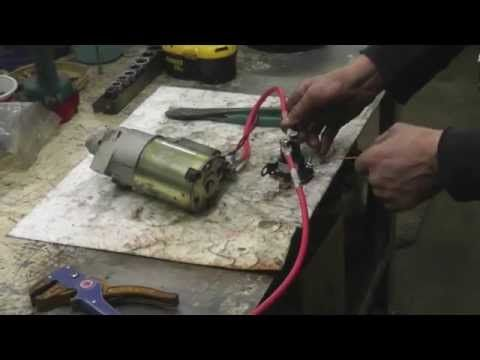 HowTo Fix A Starter Solenoid With Taryl Kohler