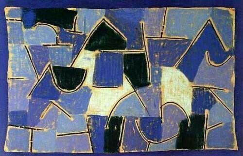 Blaue Nacht, 1937 by Paul Klee