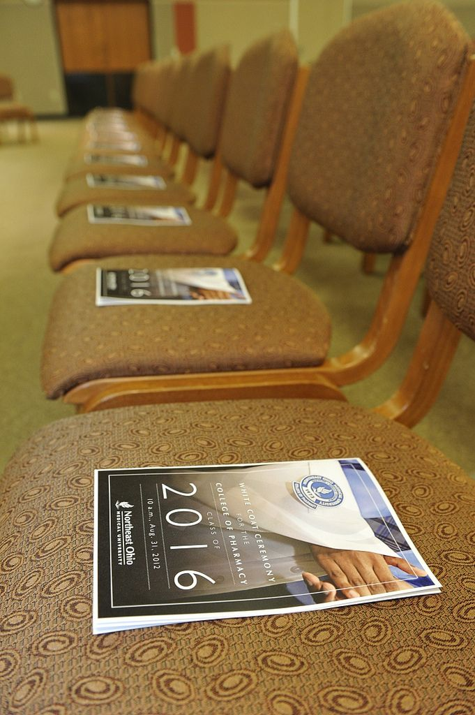 College of Pharmacy White Coat Ceremony 2012 Ohio