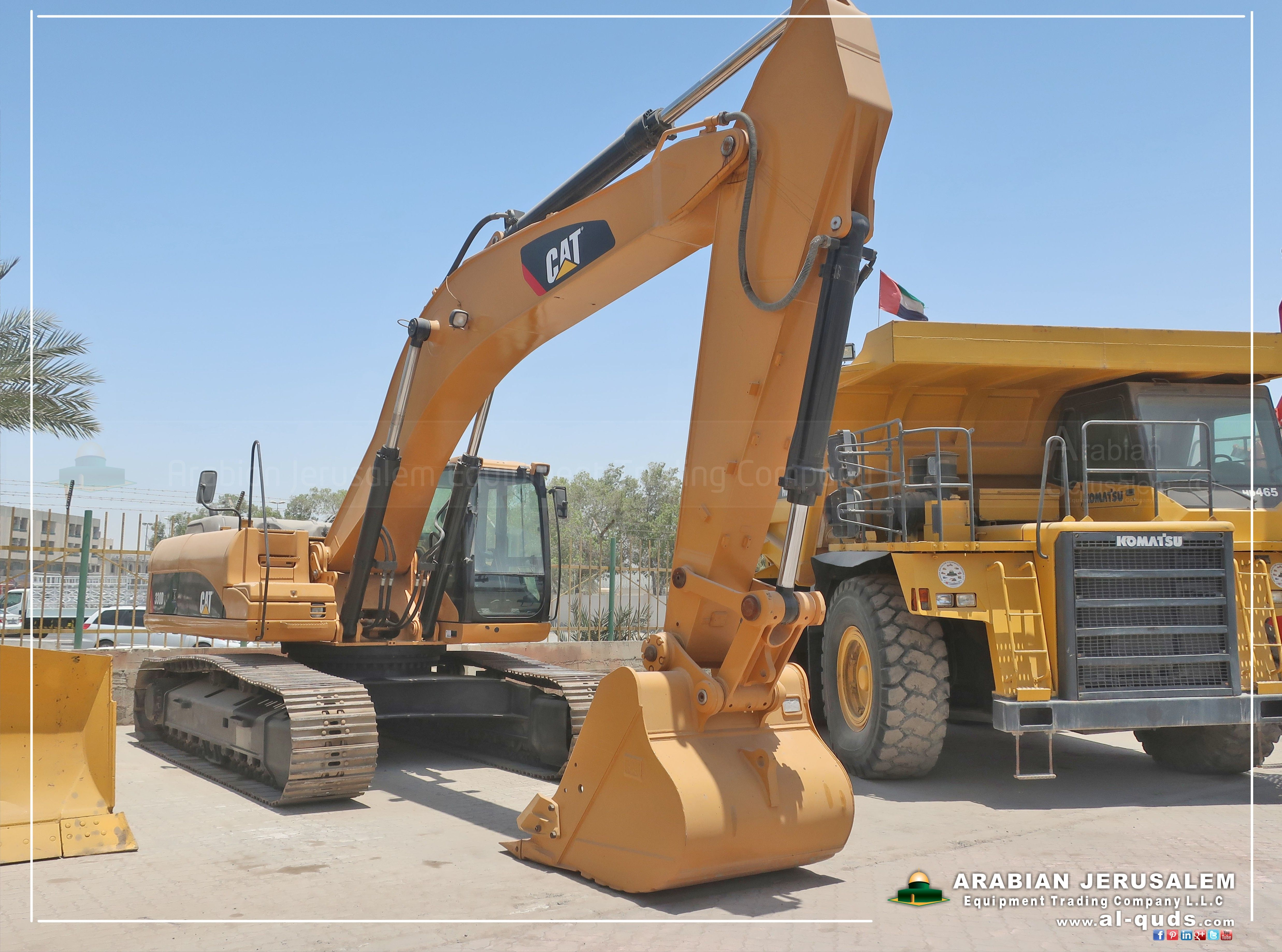 hight resolution of cat 330d 2007 available cat 330d construction uae